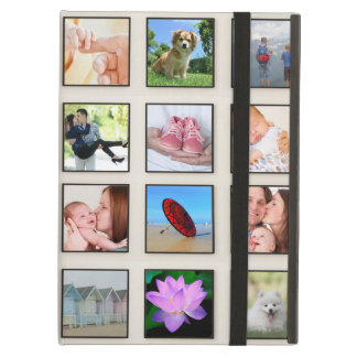 De klassieke Vierkante Collage van de Foto van het iPad Air Hoesje