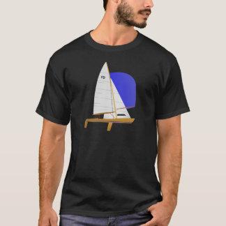 De klassieke Vliegende Zeilboot van Nederlander T Shirt