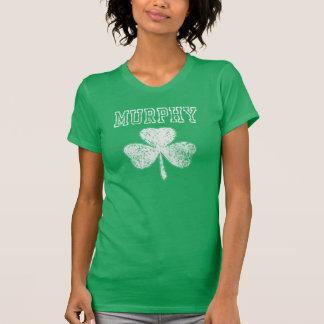 De Klaver het Iers van Murphy Tshirts