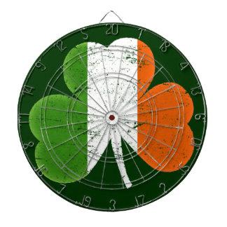 De Klaver van de Vlag van Ierland Dartbord