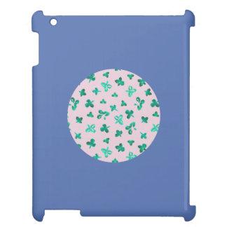 De klaver verlaat het Glanzende Hoesje van iPad iPad Cover
