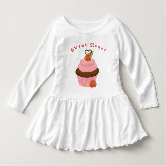 De Kleding van Cupcake van het liefje voor Meisjes Baby Jurk