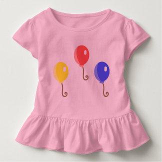 De Kleding van de Peuter van de ballon Kinder Shirts