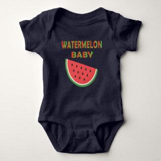 De Kleding van het Baby van de watermeloen Romper