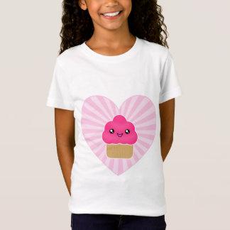 De Kleding van het Hart van Cupcake van Kawaii T Shirt