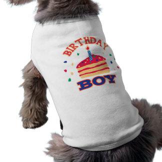 De Kleding van het Huisdier van het feestvarken Mouwloos Hondenshirt