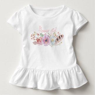 De Kleding van het Meisje van de Bloem van Boho Kinder Shirts