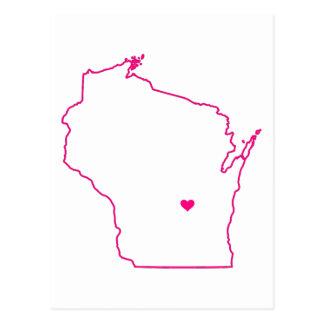De Kleding van Wisconsin Briefkaart