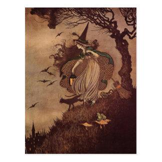 De kleine Heks Briefkaart