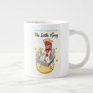 De kleine JumboMok van de Koning Grote Koffiekop