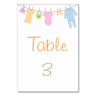 De kleine Kaarten van de Lijst van het Baby shower