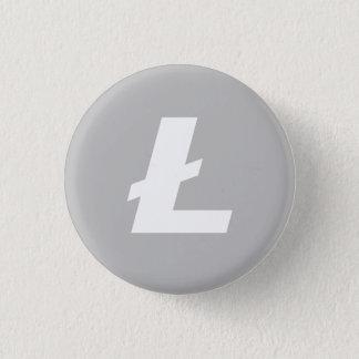 De Kleine Knoop van LTC van Litecoin Ronde Button 3,2 Cm