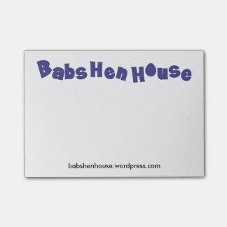 De kleine Nota's van de Post-it BabsHenHouse Post-it® Notes