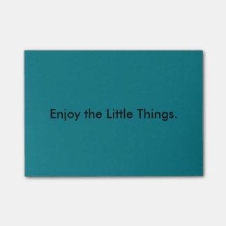 De kleine Nota's van de Post-it van Dingen Post-it® Notes