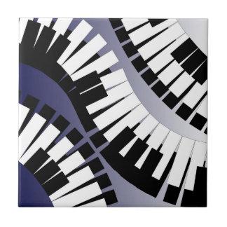 De kleine Tegel van de Piano Keramisch Tegeltje