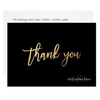 De Kleur/het Monogram van PixDezines DIY dankt Kaart