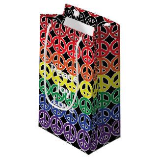 De Kleur van de Regenboog van het Teken van de Klein Cadeauzakje
