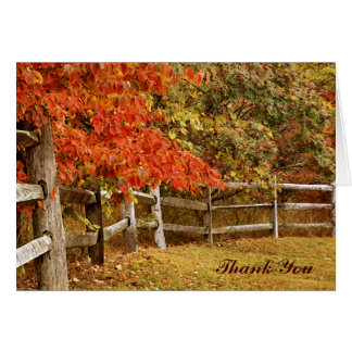 De Kleuren van de herfst danken u Briefkaarten 0