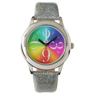 De kleuren van de regenboog horloges