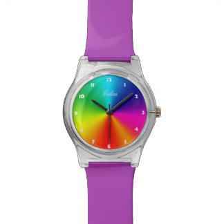 De Kleuren van de regenboog Polshorloge