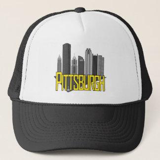 De Kleuren van de Stad van Pittsburgh Trucker Pet
