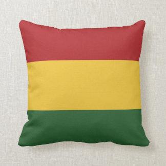 De Kleuren van de Vlag van Rasta Sierkussen