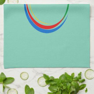 De kleuren van Google Keukenhanddoek