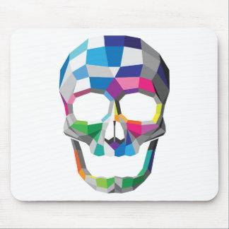 De Kleuren van Mousepad van de schedel Muismat