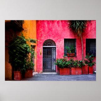 De kleuren van Rome Poster