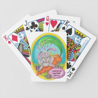 De kleuren-Woorden van het konijntje Bicycle Speelkaarten