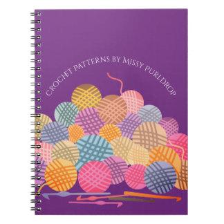 De kleurenballen van de douane van het ringband notitieboek