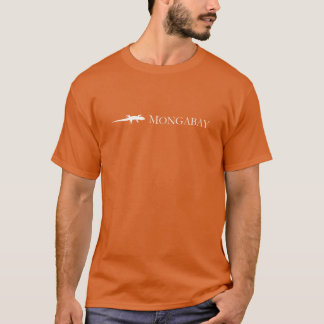 De kleurenoverhemd van Mongabay T Shirt
