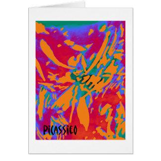 De kleurrijke Abstracte Kaart van de Nota van de
