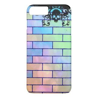 De kleurrijke Bakstenen van de Schedel iPhone 8/7 Plus Hoesje