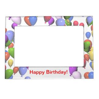 De kleurrijke Ballons van de Verjaardag Magnetisch Lijstje