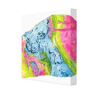 De Kleurrijke Berg van de abstracte Kunst van de Canvas Afdrukken