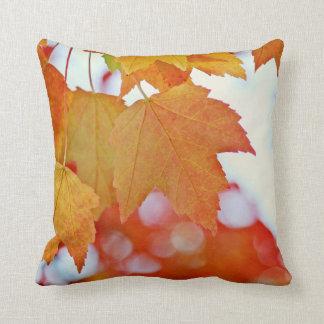 De kleurrijke Bladeren van de Herfst Sierkussen