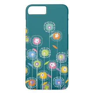 De kleurrijke Blauwgroene Achtergrond van iPhone 8/7 Plus Hoesje