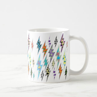 De kleurrijke Bout van de Bliksem Koffiemok