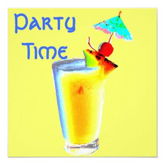 De kleurrijke Cocktail party van de Drank van de Kaart