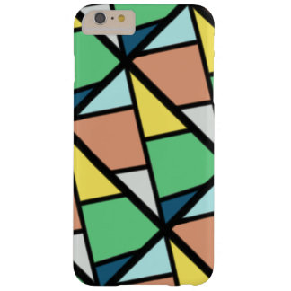 De kleurrijke dekking van de Telefoon Barely There iPhone 6 Plus Hoesje