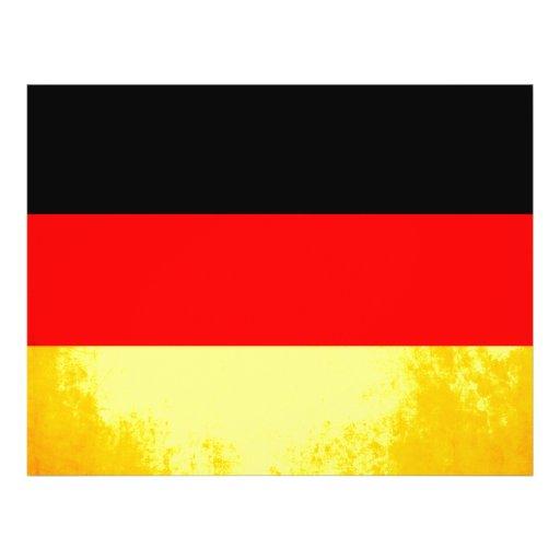 De kleurrijke Duitse Vlag van het Contrast Folders