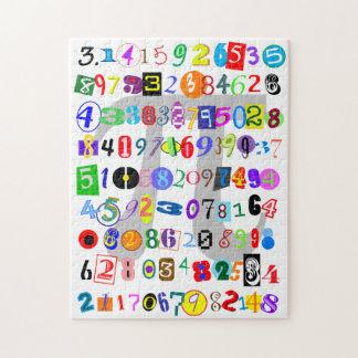 De kleurrijke en Afbeelding van de Pret van Pi Legpuzzel