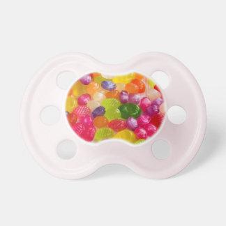 De kleurrijke Fopspeen van het Baby van het Snoep