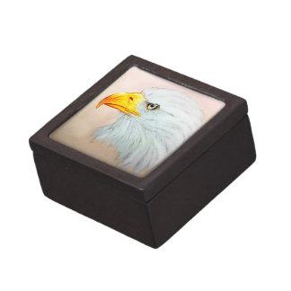 De kleurrijke geïllustreerde doos van de vogelgift premium opbergdoosje