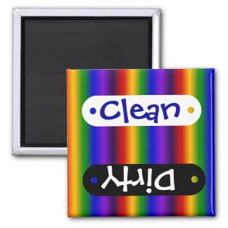 De Kleurrijke Giften van het Abstracte Vierkante Magneet