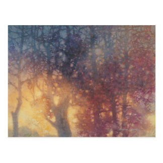 De kleurrijke Herfst Briefkaart