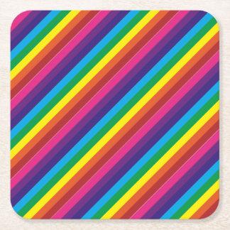 De kleurrijke Levering van de Partij van het Vierkante Onderzetter