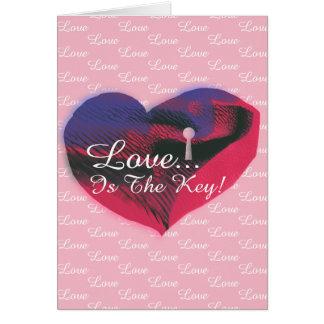 De kleurrijke Liefde is de Belangrijkste Kaart