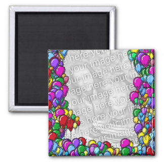 De kleurrijke Magneet van de Foto van het Ontwerp